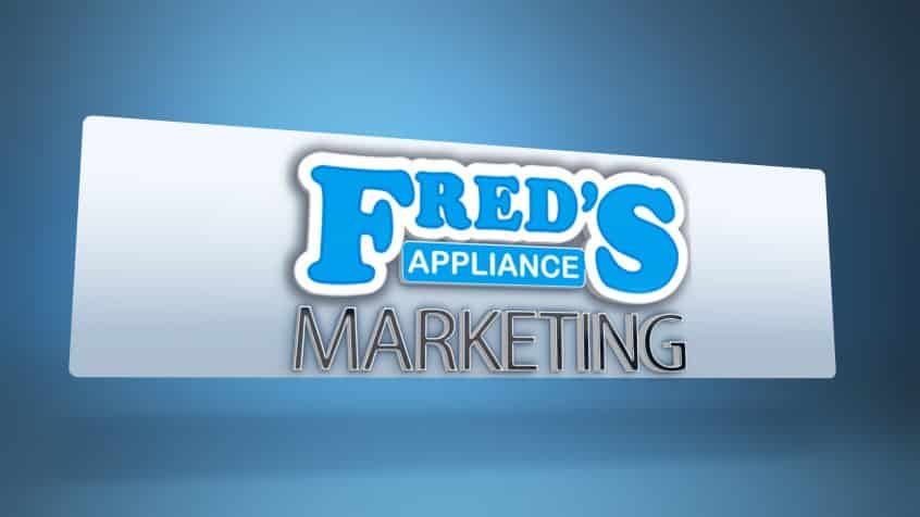 freds appliance marketing