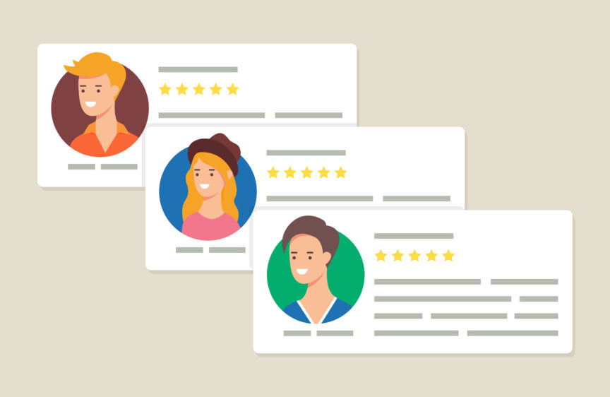 the correct way to handle negative reviews in the field service