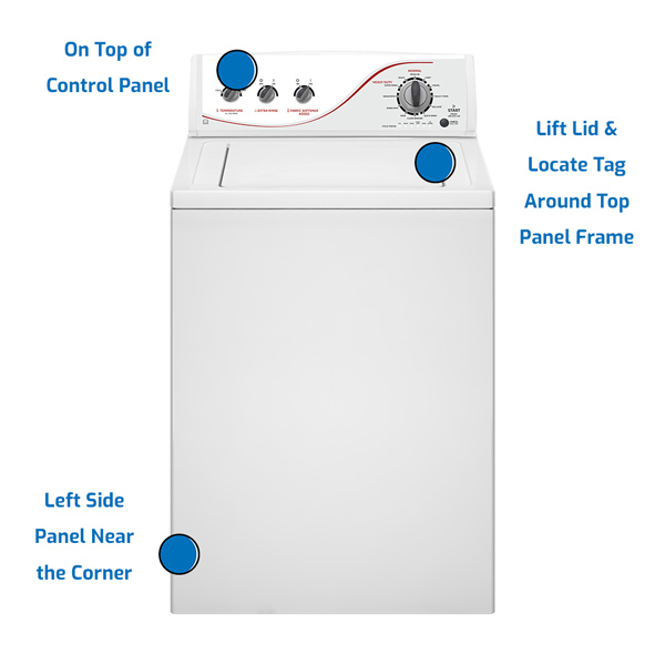 Admiral Top Load Washer