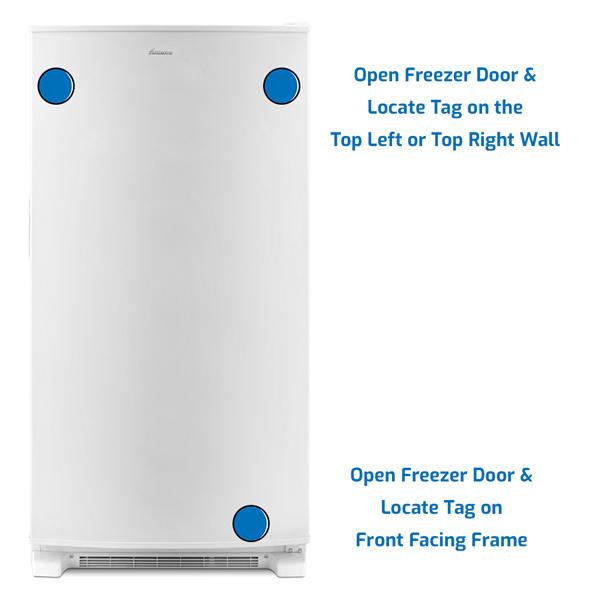 Amana Freezer Upright