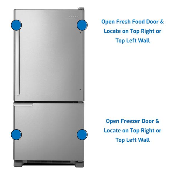 Amana Refrigerator Bottom Freezer