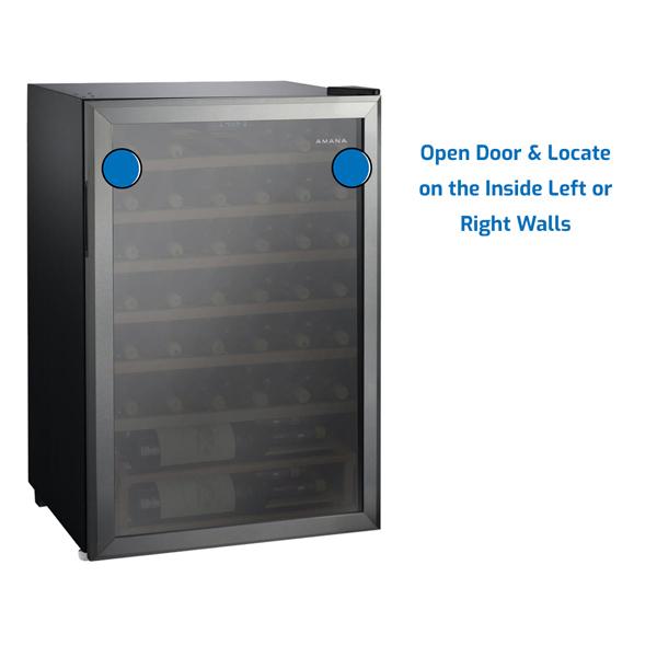 Amana Refrigerator Under Counter