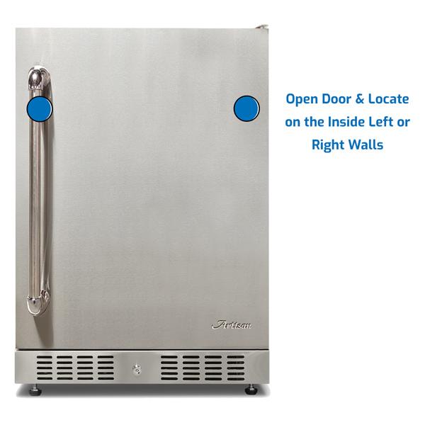 Artisan Refrigerator Under Counter