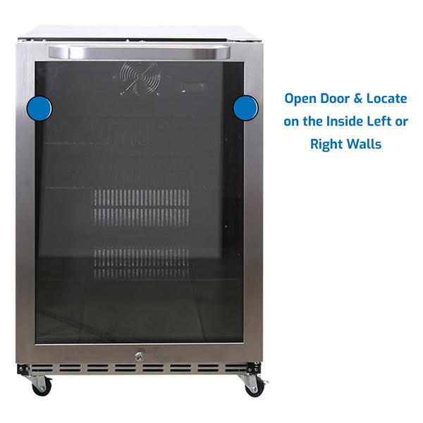 Avanti Refrigerator Under Counter