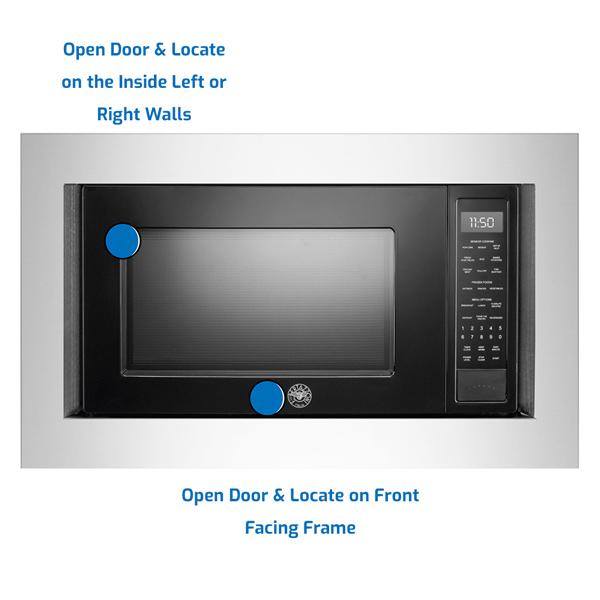 Bertazzoni Countertop Microwave