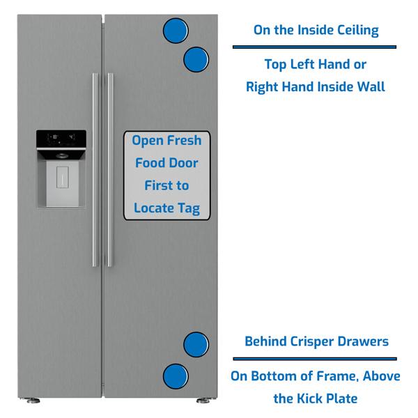 Blomberg Refrigerator Side by Side