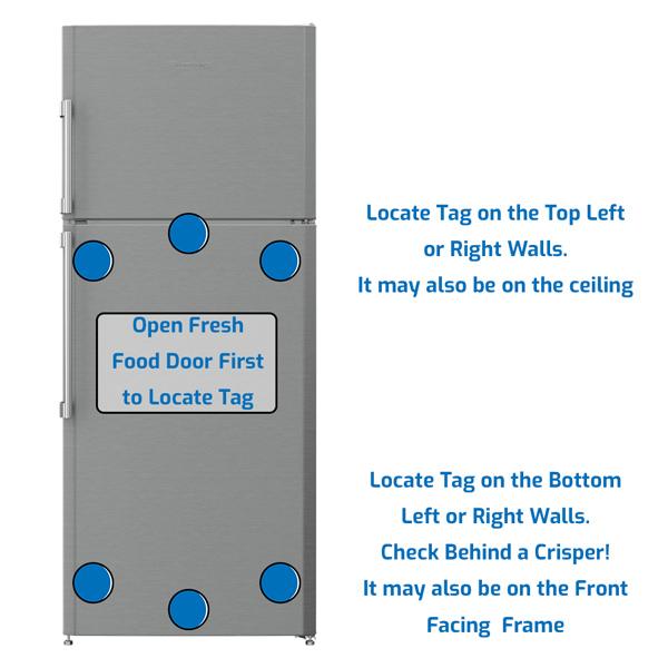 Blomberg Refrigerator Freezer on the Top
