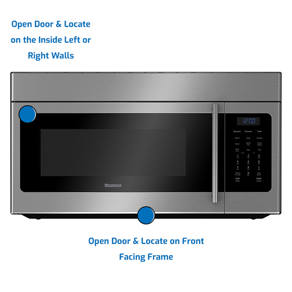 Blomberg Over the Range Microwave