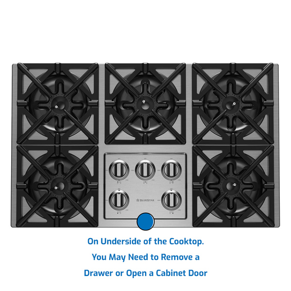 Blue Star Cooktop Gas