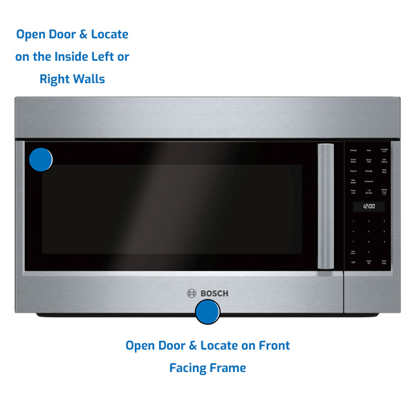 Bosch Over the Range Microwave