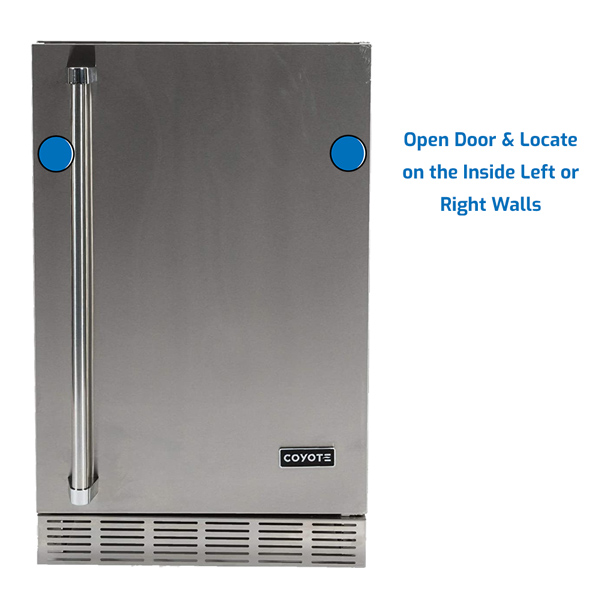 Coyote Refrigerator Under Counter