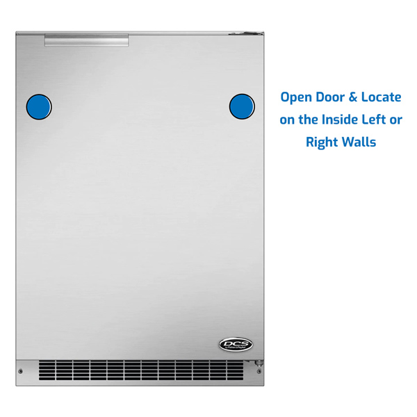 DCS Refrigerator Under Counter