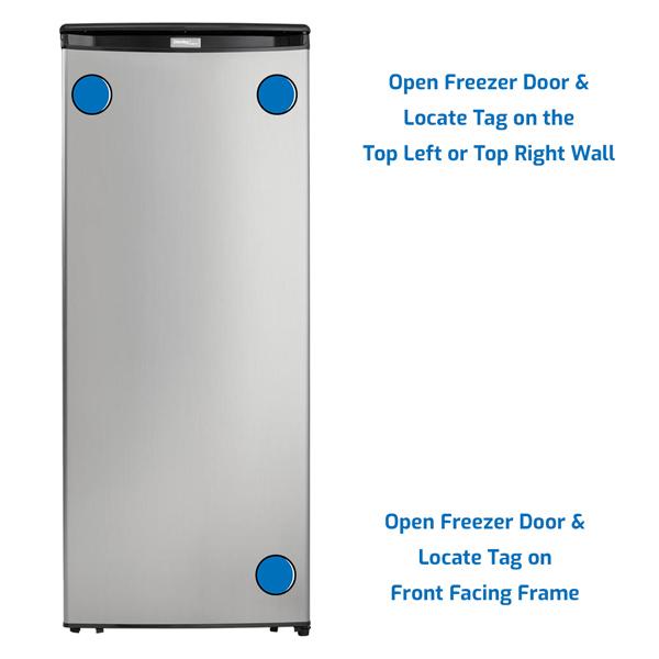 Danby Freezer Upright