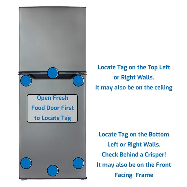 Danby Refrigerator Freezer on the Top
