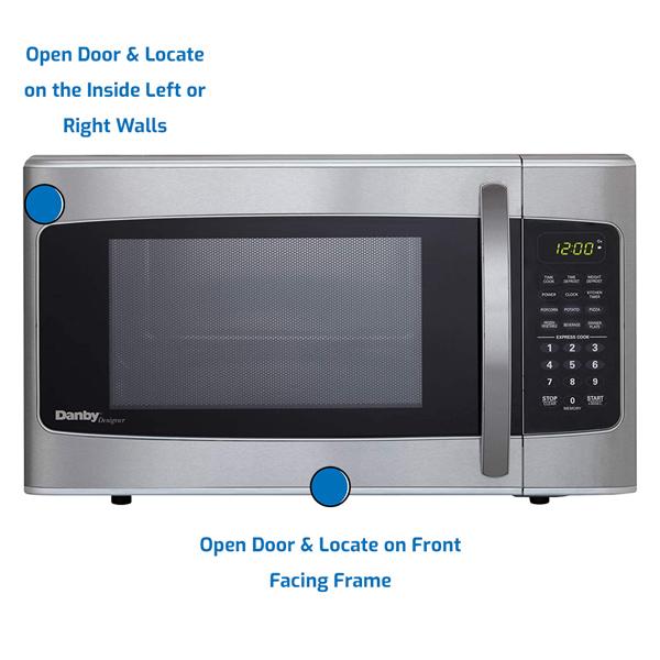 Danby Microwave Countertop