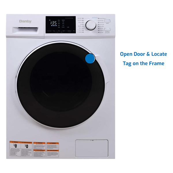 Danby Washer Front Load