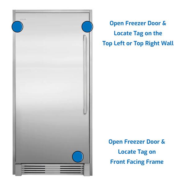 Electrolux Freezer Upright