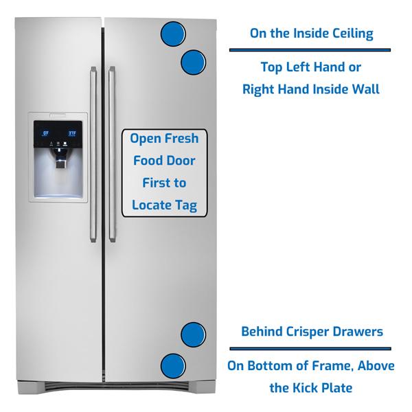 Electrolux Refrigerator Side by Side