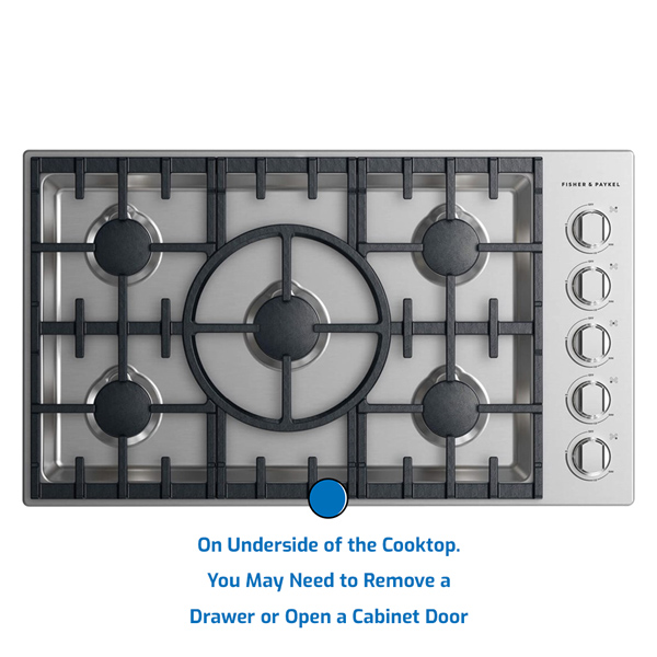 Fisher and Paykel Cooktop Gas