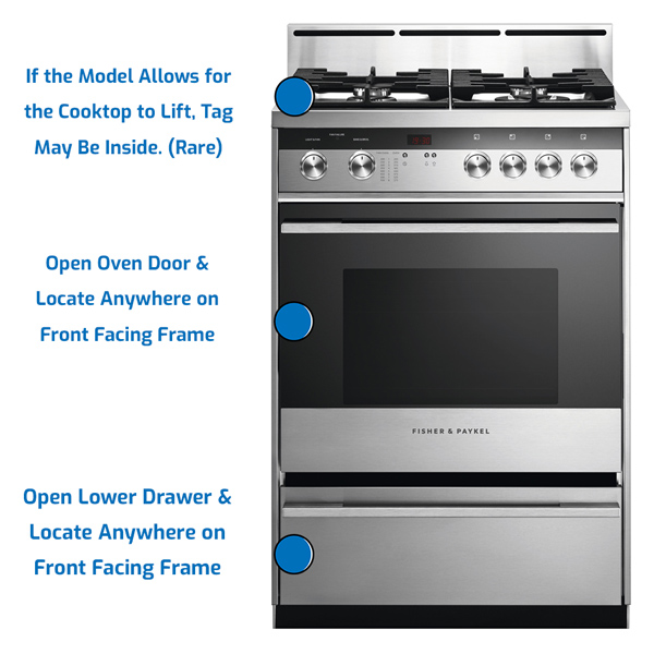 Fisher and Paykel Range Gas