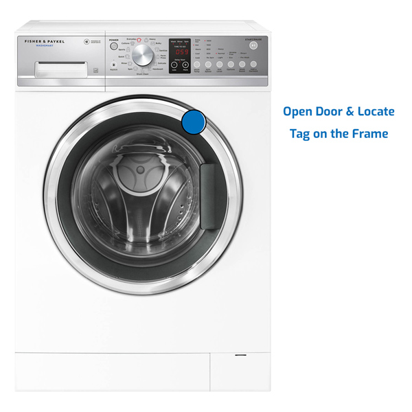 Fisher and Paykel Washer Front Load
