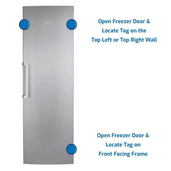 Franke Freezer Upright