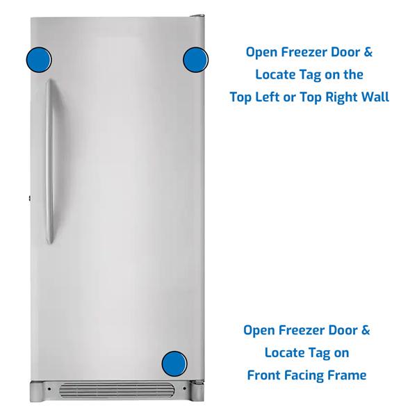Frigidaire Freezer Upright