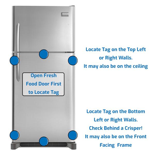 Frigidaire Refrigerator Freezer on the Top