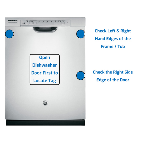 GE General Electric Dishwasher