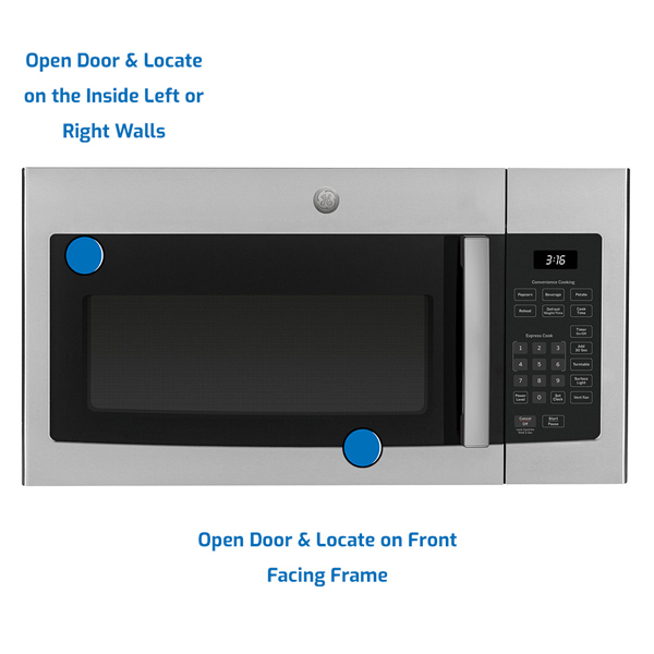 GE General Electric Microwave Over the Range