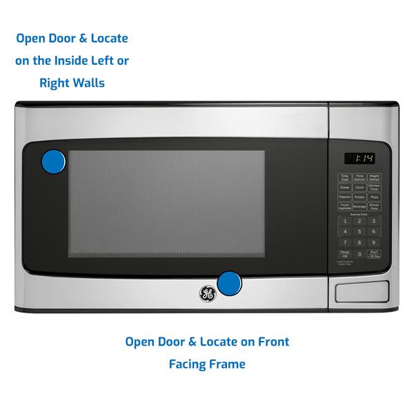 GE General Electric Microwave Countertop
