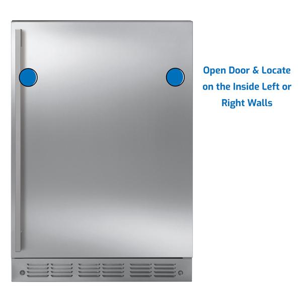 GE Monogram Refrigerator Under Counter