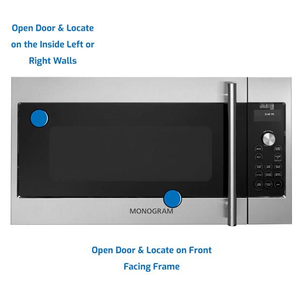 GE Monogram Microwave Over the Range
