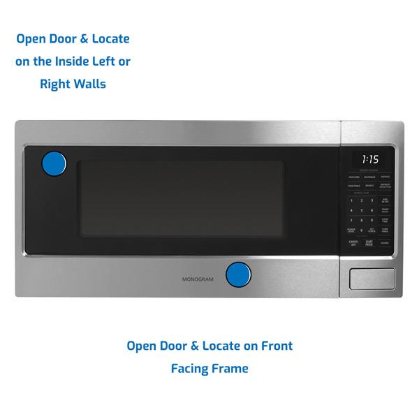 GE Monogram Microwave Countertop