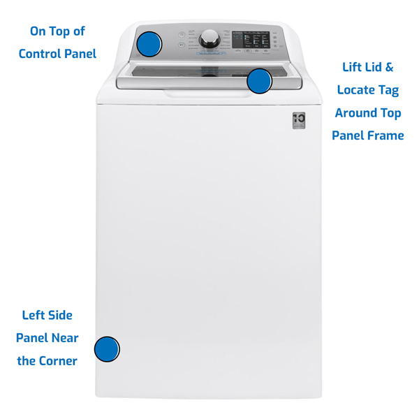 GE General Electric Washer Top Load