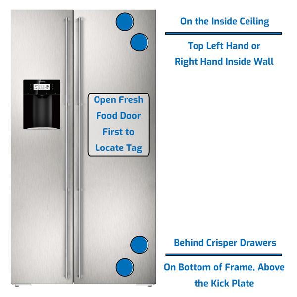 Gaggenau Refrigerator Side by Side