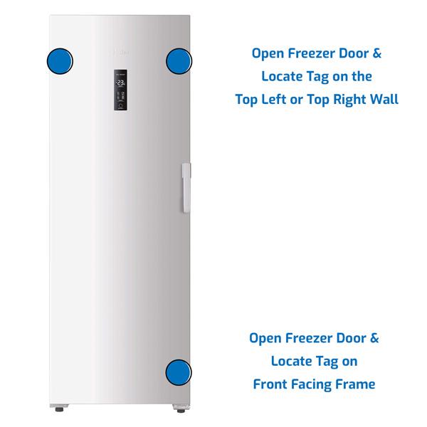 Haier Freezer Upright