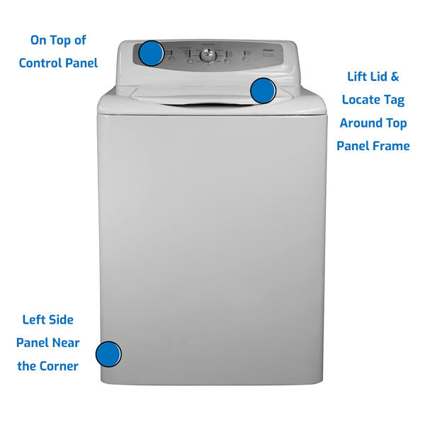 Haier Washer Top Load