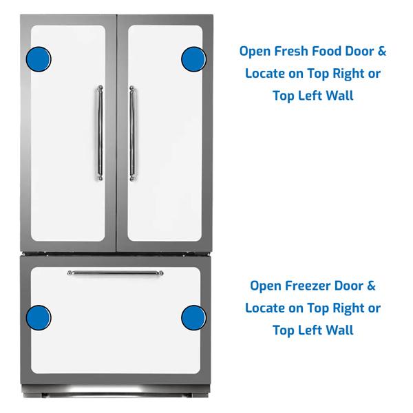 Heartland Refrigerator Freezer on the Bottom
