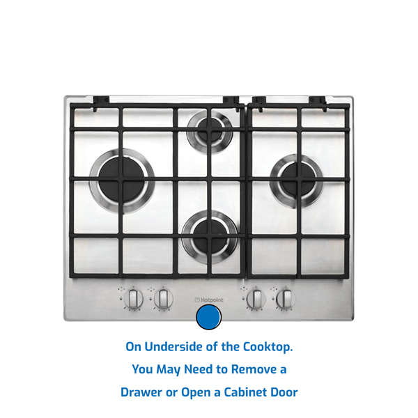 Hotpoint Cooktop Gas