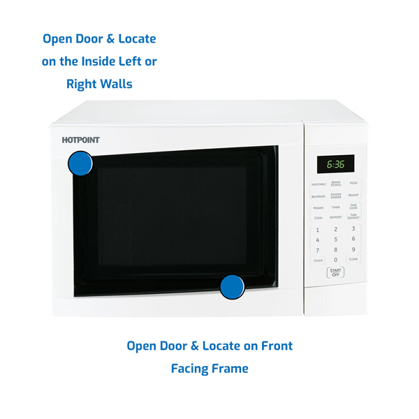 Hotpoint Microwave Countertop