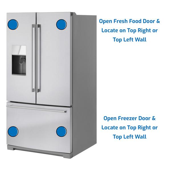 Ikea Refrigerator Freezer on the Bottom
