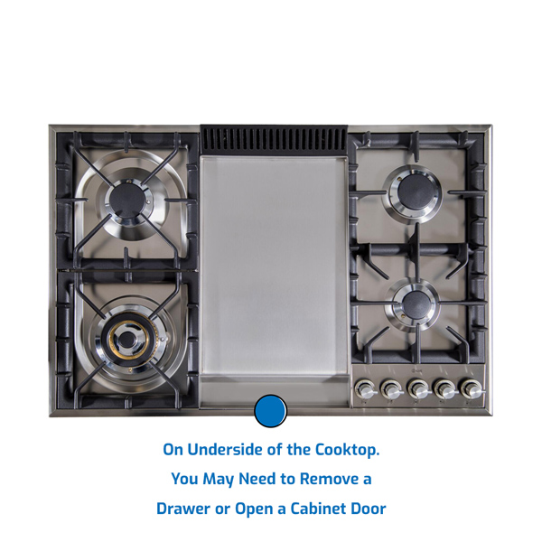 Ilve Cooktop Gas