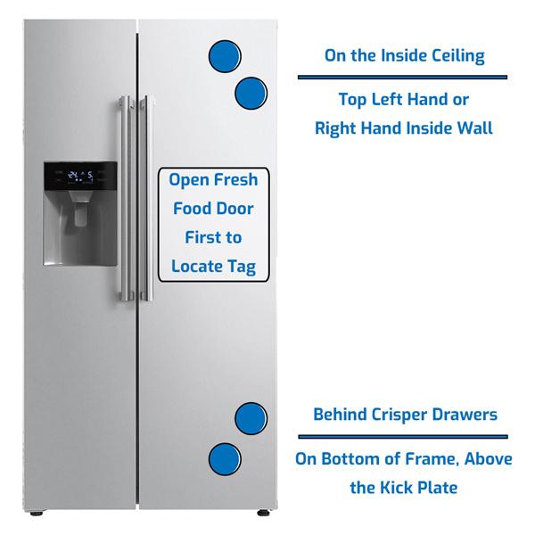 Ilve Refrigerator Side by Side