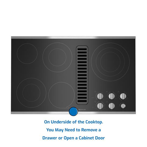 Jenn-Air Cooktop Electric