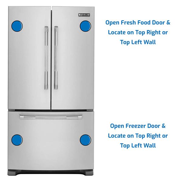 Jenn-Air Refrigerator Freezer on the Bottom