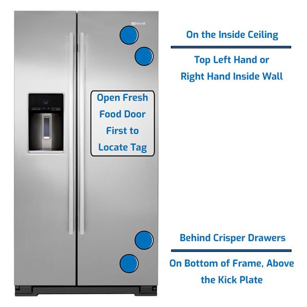 Jenn-Air Refrigerator Side by Side