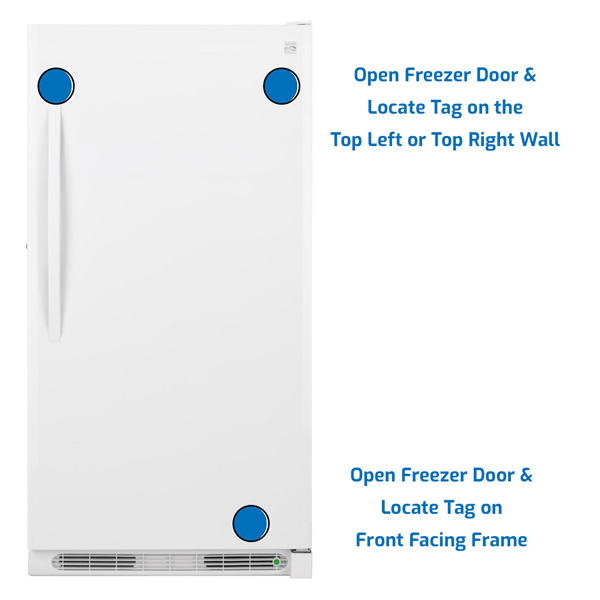 Kenmore Freezer Upright