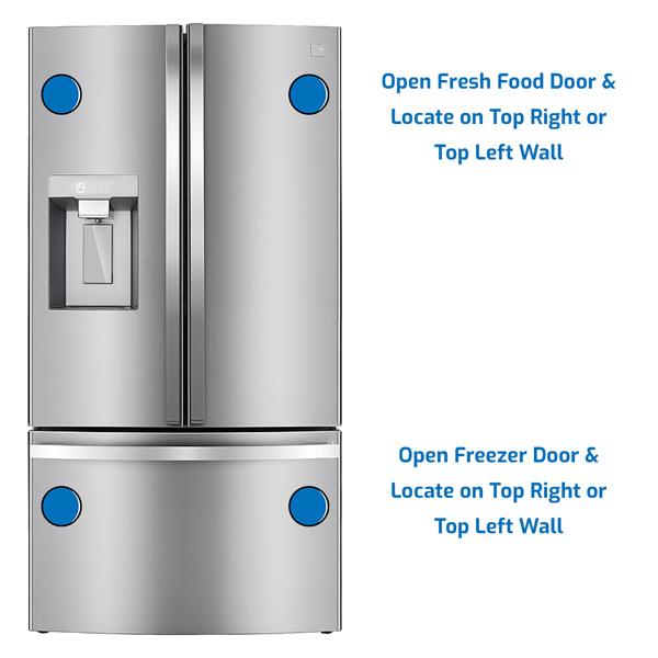 Kenmore Refrigerator Freezer on the Bottom