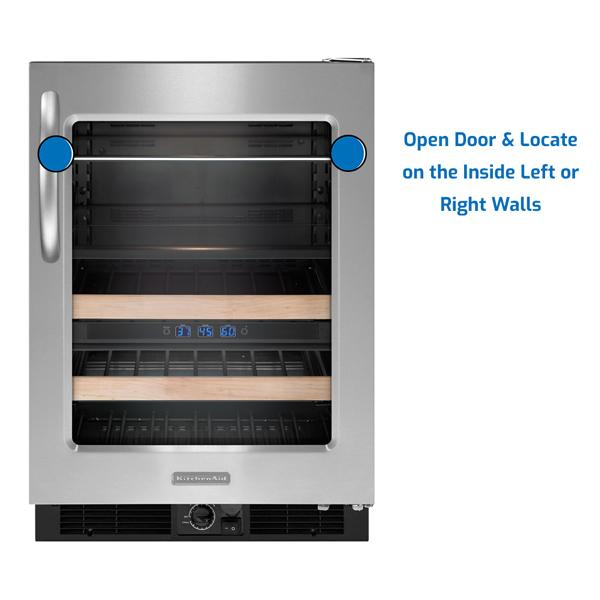 KitchenAid Refrigerator Under Counter